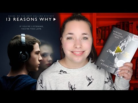 THIRTEEN REASONS WHY BOOK VS  SHOW | Pages & Popcorn