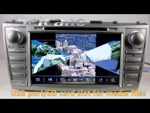 toyota camry oem head unit funnycat tv. Black Bedroom Furniture Sets. Home Design Ideas