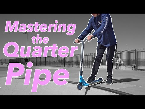 HOW TO RIDE A SKATEPARK QUARTER PIPE LIKE A PRO IN 10 MINUTES *For Beginners*