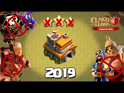 NEW TH7 WAR BASE 2019 Anti 3 STAR | Town Hall 7 (TH7) WAR BASE CLASH OF CLANS