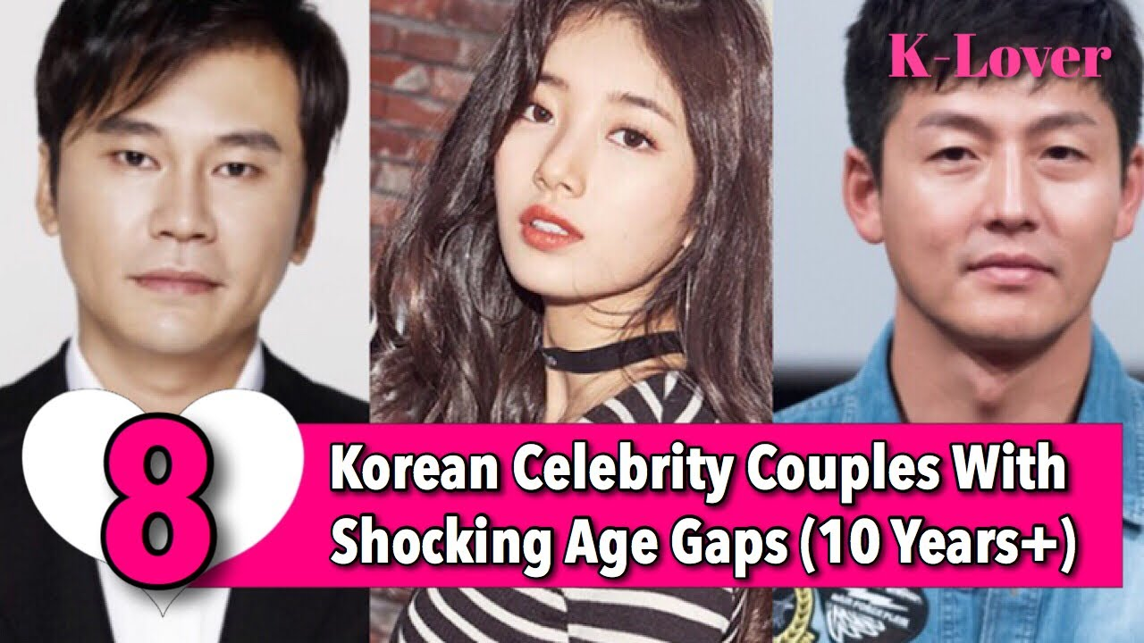 Top 10 Celebrity Couples With A Big Age Difference - YouTube