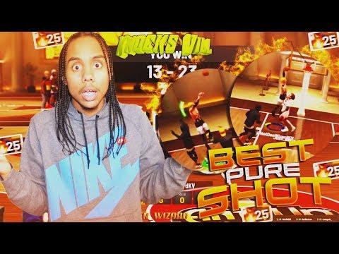 Sf Pure Shot Creator Best Build? 25 Game Win Streak In Stage!! NBA 2K19
