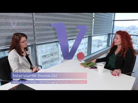 Oana Botolan Datki   SEE Managing Partner, Consulteam - prima parte