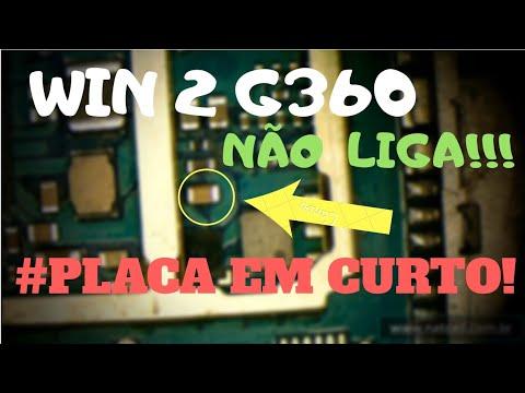 SAMSUNG GALAXY WIN 2 G360 - NÃO LIGA - CURTO NA PLACA