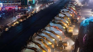 07/06/2017: China's globalization model vs. Germany's | GEE! China removes 600m flyover in 8 hrs
