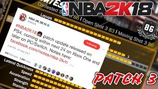 5 Important Things Fixed In Patch 3 NBA 2K18