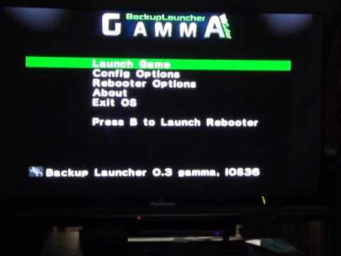 backup launcher gamma fix error #002