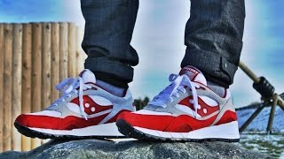 """Saucony Shadow 6000 """"Running Man"""" Review + On Feet HD"""