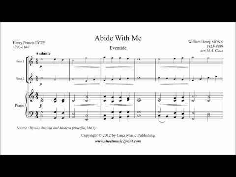 Abide With Me - Flute Duet
