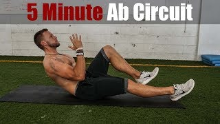 5 Minute Ab Circuit At Home | Overtime Athletes