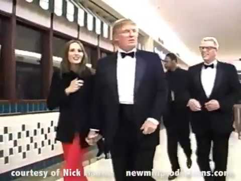 MISS USA PAGEANT - NICK MANTIS & DONALD TRUMP 2001