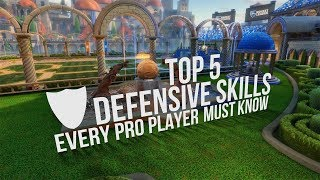 5 Defensive Rocket League Tips Every Pro Player MUST Know