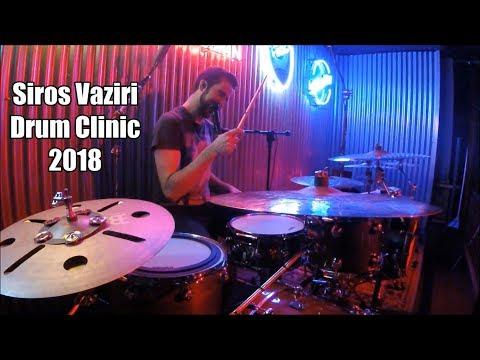 Siros Vaziri - Full Drum Clinic