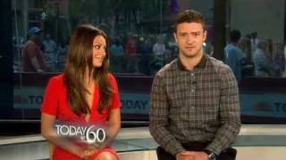 Justin Timberlake & Mila Kunis - Happy 60th anniversary wishes to the TV TODAY