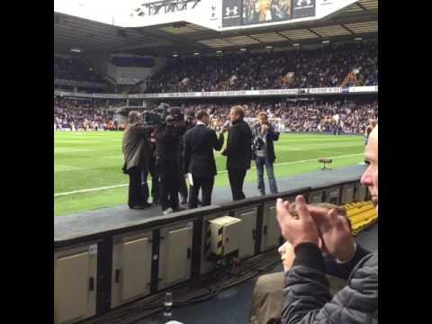 Jurgen Klinsmann returns to Tottenham Hotspur