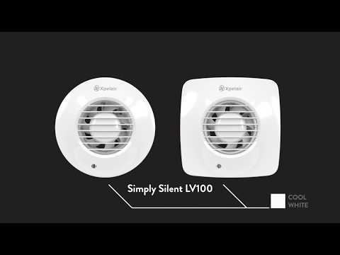 Simply Silent LV100 Extract Fan