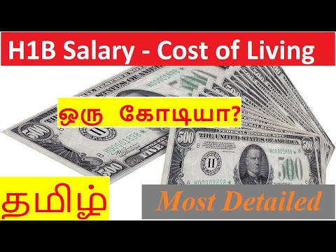 Monthly Expenses - H1b Salary - Cost Of Living - USA -  Indians