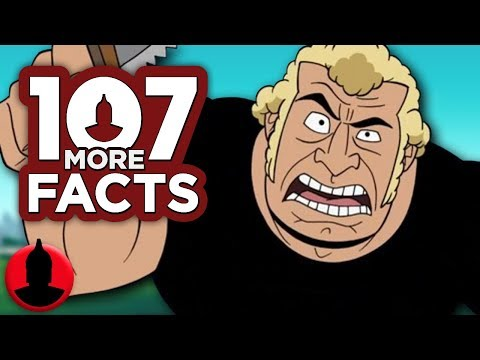 107 More Facts About Venture Bros!! - Cartoon Facts! (107 Facts S8 E2)