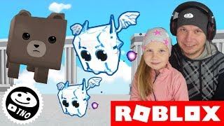 DEAR LITTLE DRAGON + code to the game-[BOSSES] Dragon Simulator | Roblox | Daddy and Yohana CZ/SK