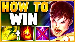 #1 GAREN WORLD HOW TO WIN EVERY RANKED GAME (ULTIMATE GAREN GUIDE) SEASON 10