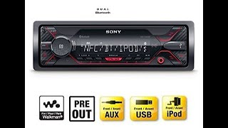 Sony DSX-A410BT FM/AM Digital Media Player Unboxing Review Video