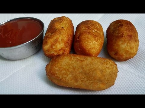 Bread Roll Recipe - Bread Potato Roll || Potato Stuffed Bread Roll