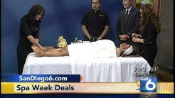 Balensi Spa's Spa Week 2010 - Featured in CW6 San Diego