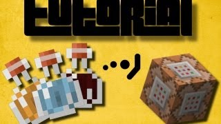 Minecraft tutorial || How to give Potion Effects using Command Blocks