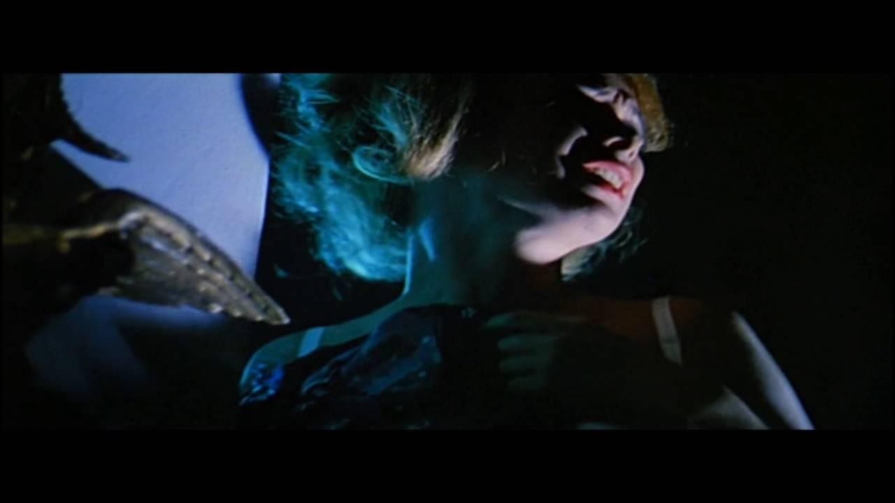 Allison Dean Nude blood and black lace, second murder scene