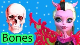 Monster High Learn Bones Clear Skeleton Academy School Part 1 Bonita Femur Neighthan Rot