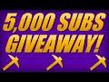 ServerMiner 5,000 Subscriber GIVEAWAY!