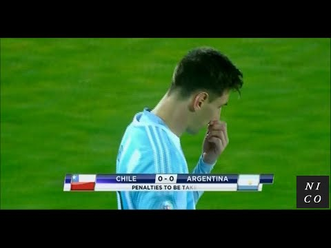 Copa América 2015 FINAL - Chile vs Argentina / Penalty shootout