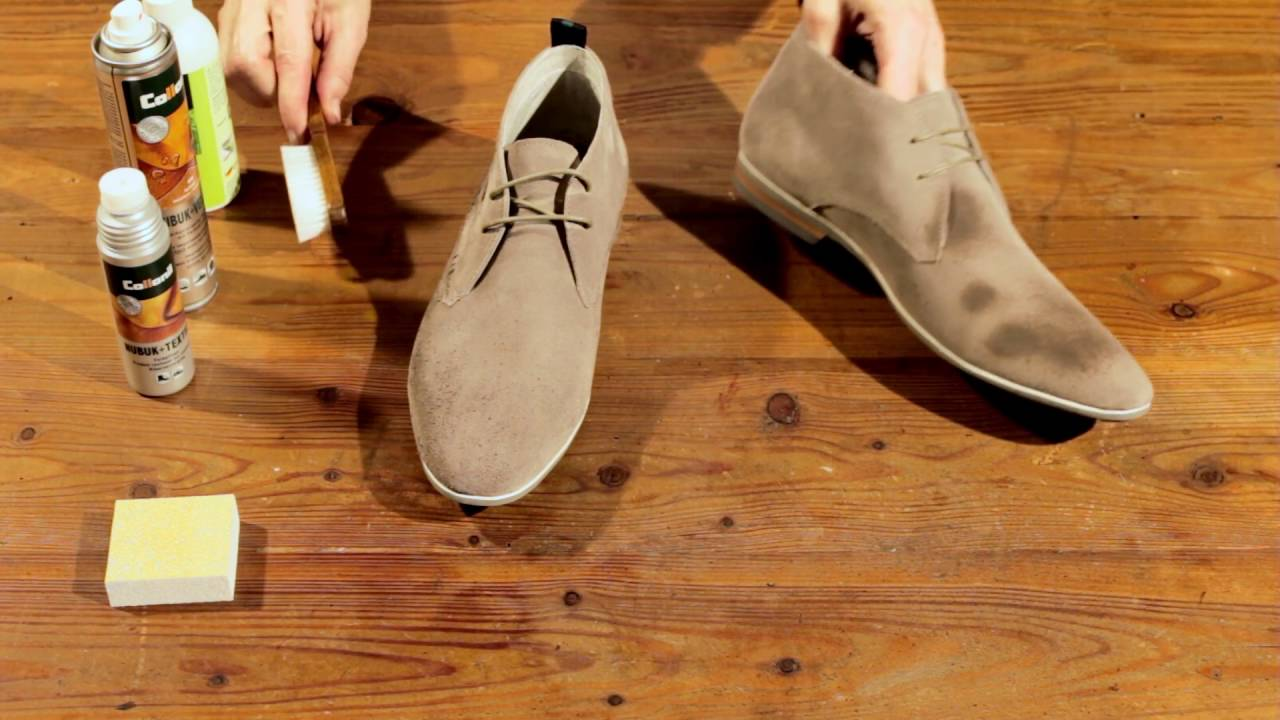 How To Clean Light Coloured Suede Shoes
