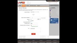 how to send money to a friend via LavaPay