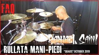 LA TUA PRIMA RULLATA MANI/PIEDI (Doppio pedale) - Lezione di batteria per principianti - Zoom q8
