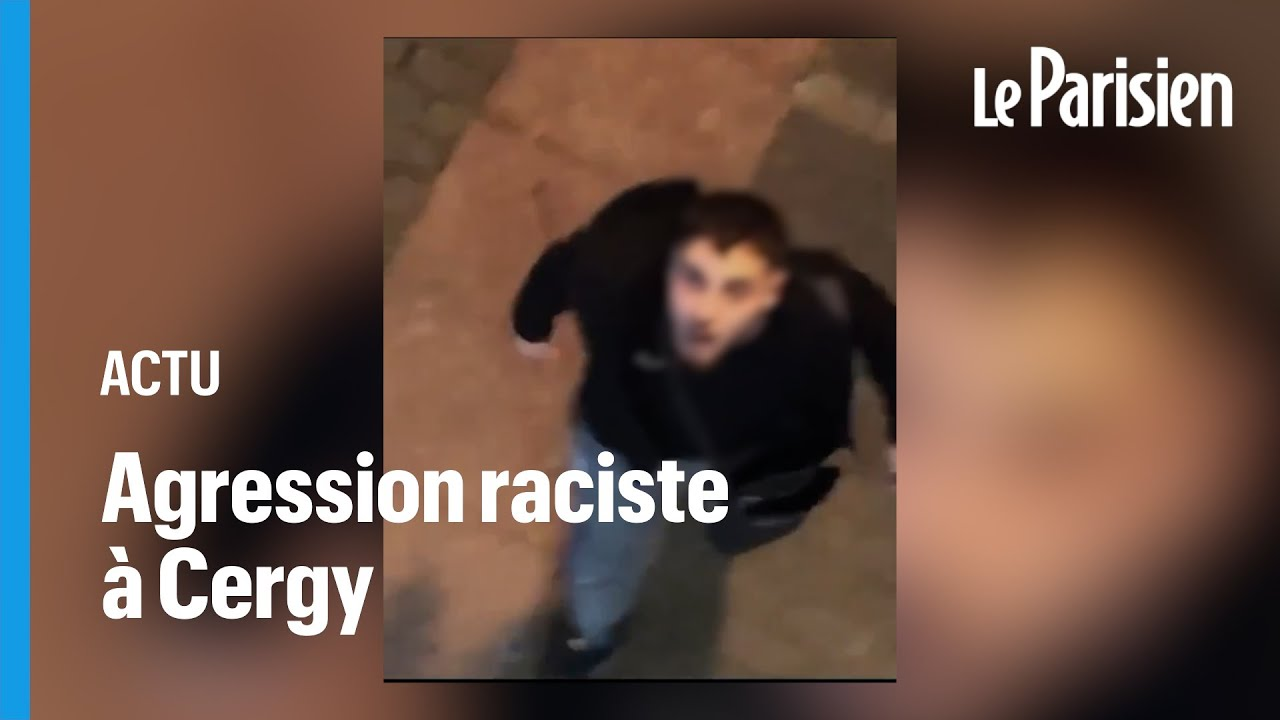 Download Cergy : les images des injures racistes d'un homme devant le restaurant le Brasco