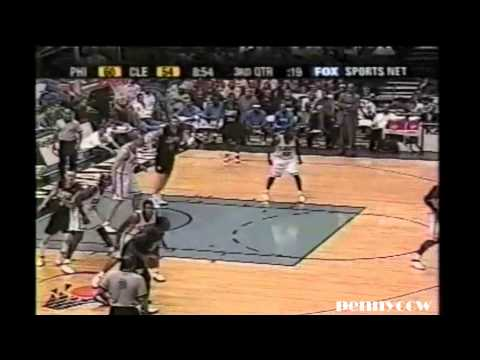 Allen Iverson, Keith Van Horn Highlights vs pre-LeBron James Cavs (2003)