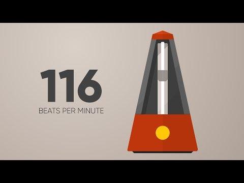 116 BPM Metronome