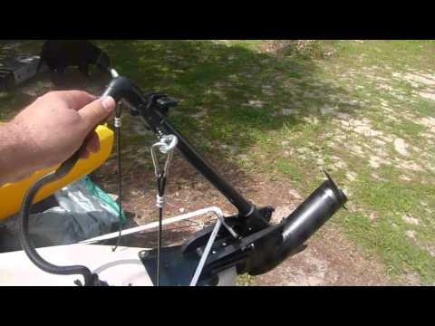 Malibu Kayak Stealth 14 W Trolling Motor Youtube