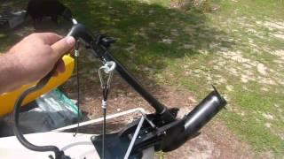 Malibu Kayak Stealth 14 w/ Trolling Motor