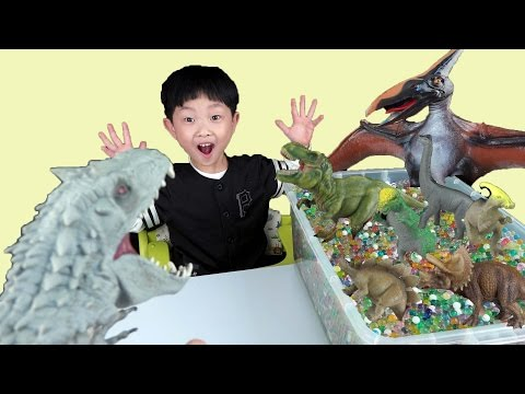 Kids Video Indominus Rex Orbeez Surprise Dinosaurs Learn Name Toys Education Video