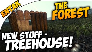 The Forest ➤ New Cabin, TREEHOUSE, Lizard Skin Armor & More! [Part 6]