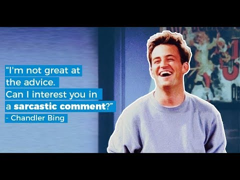 F.R.I.E.N.D.S Chandler's funny moments