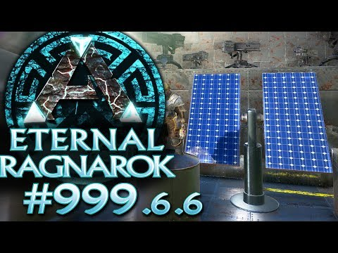ARK #999.6.6 Solarstrom MOD & coole Lampen ARK Deutsch German Gameplay