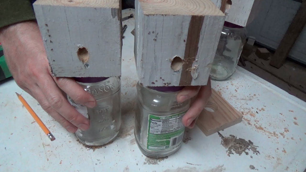 Lets Make A Super Easy Carpenter Bee Trap