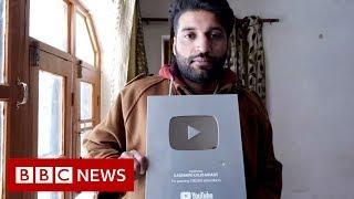 The silenced YouTube stars of Kashmir - BBC News