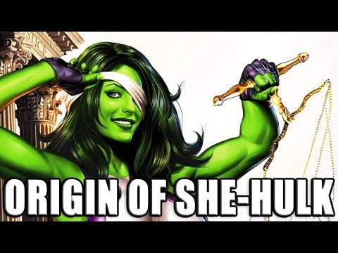 ORIGIN OF SHE-HULK │ Comic History