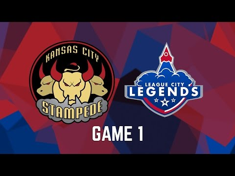 Kansas City Stampede vs. League City Legends - Game 1