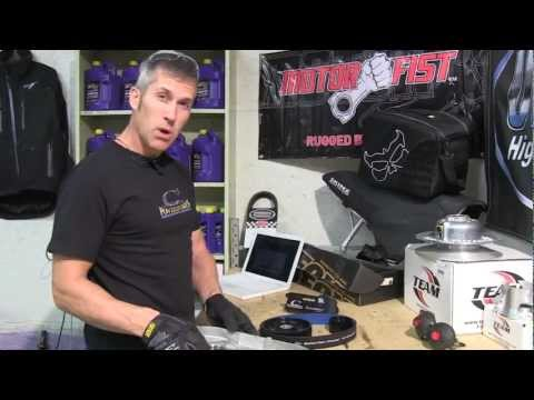 how to change chaincase oil ski doo rev