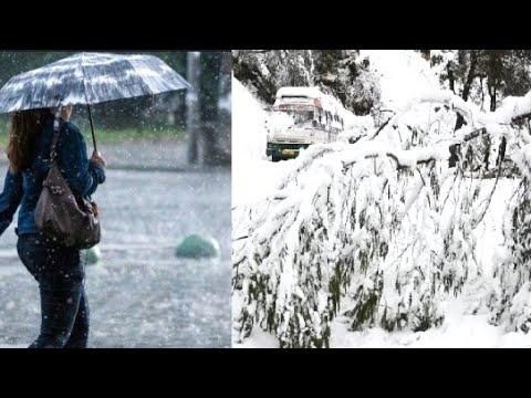 प्रदेश में कल से बारिश और बर्फबारी, 10 जिलों में जारी किया अलर्ट...